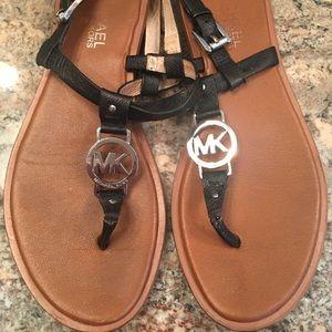 Michael Kors black sandals!